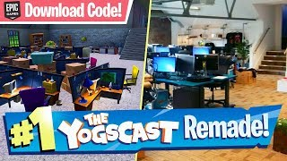 Yogtowers refait à Fortnite (w/ Download Code) - Creative Map