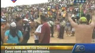 XXIV Paso a Nado de los ríos Caroni y Orinoco Municipio Caroní #VTV