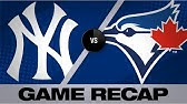 Tanaka&#39s 8-inning gem leads Yankees to winGame Highlights Yankees-Blue Jays 8/11/19