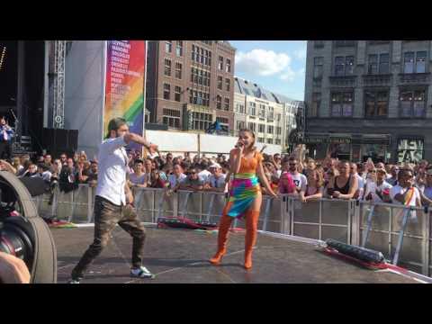 Ilinca & Alex Florea - Yodel It (Live At Amsterdam Pride 2017)