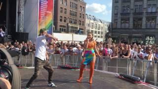 ilinca alex florea yodel it live at amsterdam pride 2017