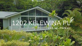 1202 Kelewina Pl. Kailua, Hawaii