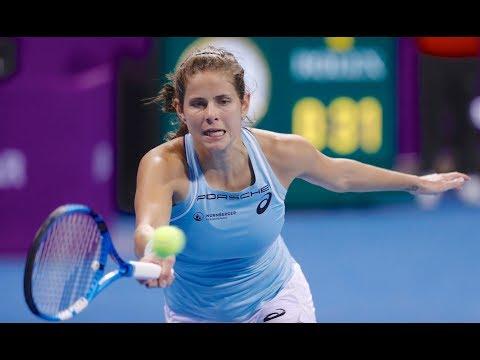 2018 Qatar Total Open First Round   Julia Goerges vs. Lucie Safarova   WTA Highlights