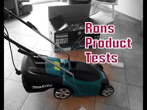 Makita Rasenmäher 33 cm ELM3311 Vergleich zu Bosch Rotak Test Kraftpaket