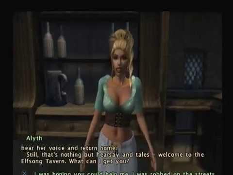 Baldurs gate Dark alliance: PS2 intro and Drizzt Do'Urden gameplay footage