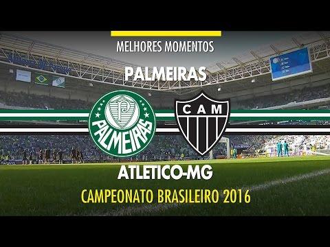 Melhores Momentos - Palmeiras 0 x 1 Atlético-MG - Brasileirão - 24/07/2016
