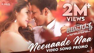 Neenaade Naa Video Promo-Yuvarathnaa(Kannada) | Puneeth Rajkumar | Santhosh Ananddram| Hombale Films