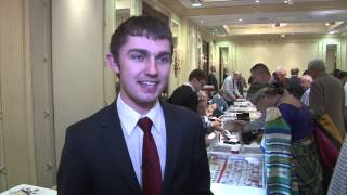 Cole Schenewerk Talks About a Career in Numismatics. VIDEO: 2:25.