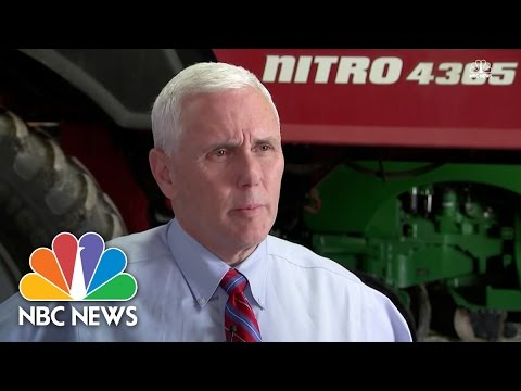 Mike Pence: 'I Respectfully Disagree' With Paul Ryan's Campaign Focus | NBC News