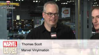 Watch an Exclusive Reveal from Vinylmation on Marvel LIVE! at New York Comic Con 2014