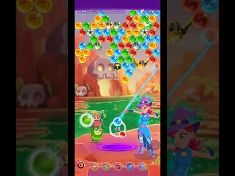 Bubble Witch 3 Saga Level 1445 ~ NO BOOSTERS