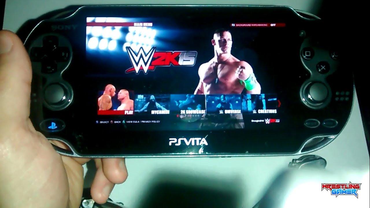 WWE 2K15 Ps Vita Remote Play: Hulk Hogan vs Sting (PS4 ...