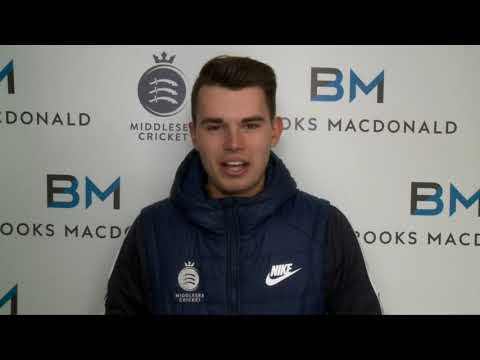 MAX HOLDEN - 2018 MIDDLESEX CRICKET PLAYER PROFILE