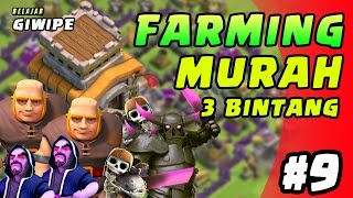 Download Video FARMING MURAH  TH 8 - BELAJAR GIWIPE episode 9 - Clash of Clans INDONESIA MP3 3GP MP4