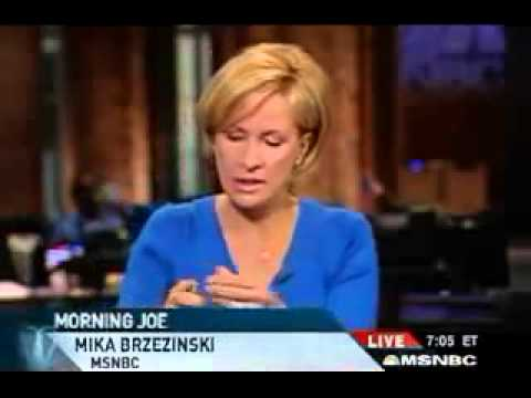 Thumbnail: Mika Brzezinski MSNBC anchor refuses 2 air Paris Hilton junk
