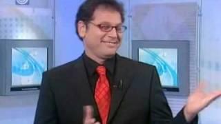 מגיש חדשות בהתקף צחוק בשידור חי בערוץ 1