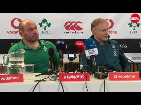 "Joe Schmidt on New Zealand not scoring a try | ""It is so seldom the All-Blacks don't score a try"""