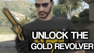 Unlock the Gold Revolver in GTA Online (Red Dead Easteregg)