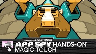 Magic Touch: Wizard For Hire | iOS iPhone / iPad Hands-On - AppSpy.com