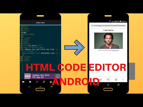 How To Insert Images Using HTML Code Editor In Android | Skill Gainer