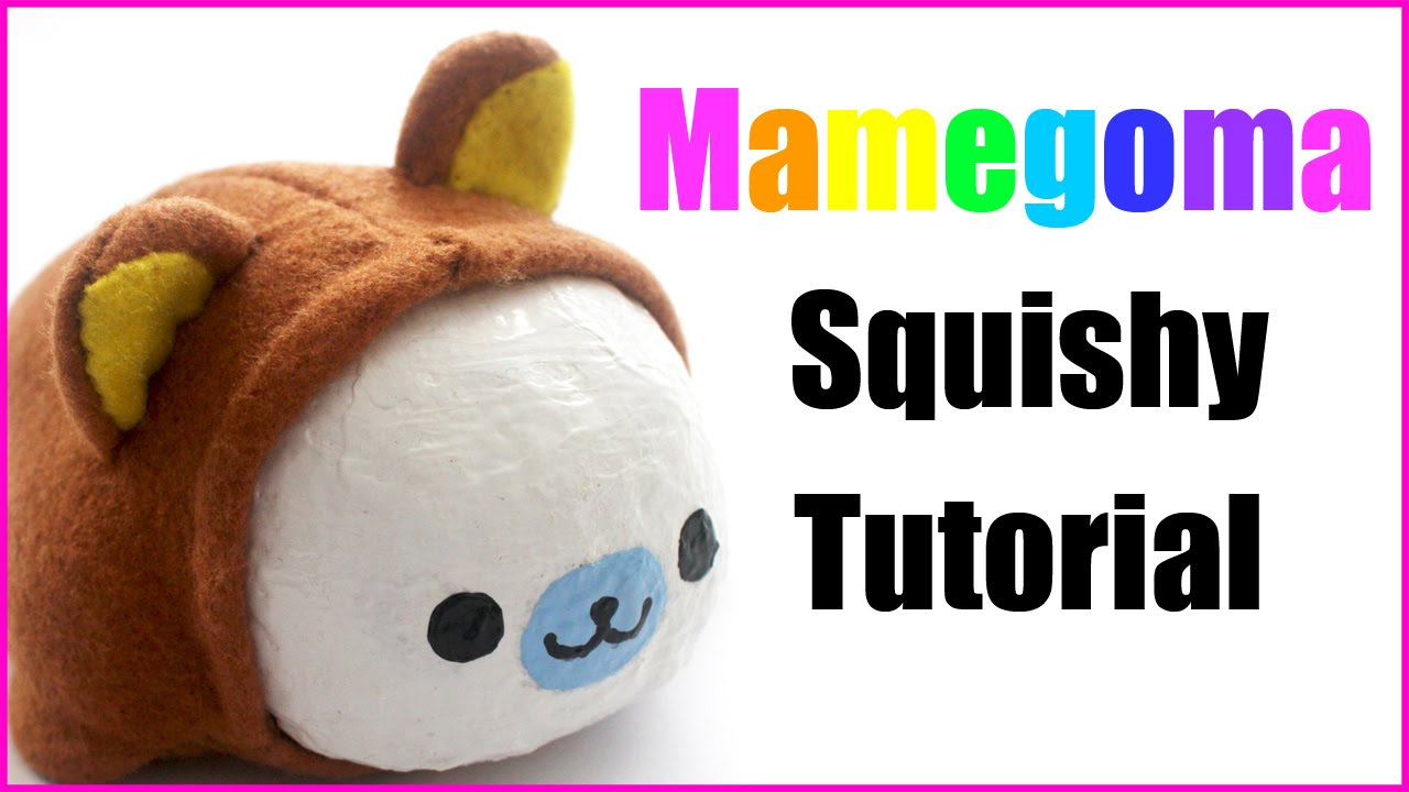 Homemade mamegoma squishy tutorial youtube for Squishy ideas