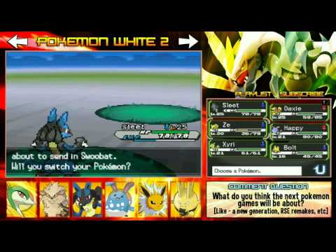 Pokemon Black 2 White 2 Nimbasa Gym Driftveil City Part 8 5 Livestream Completed Youtube Pokémon black 2 and pokémon white 2 are generation v pokémon games for the nintendo ds. pokemon black 2 white 2 nimbasa gym driftveil city part 8 5 livestream completed