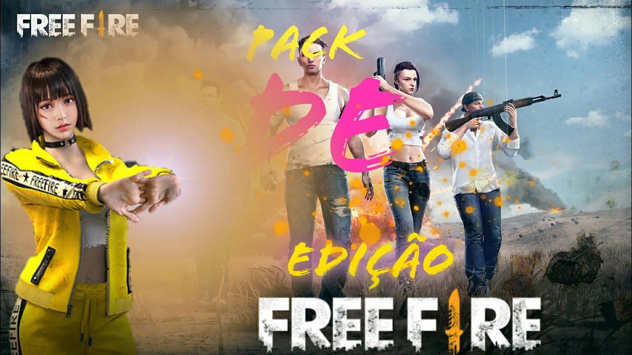 Pack De Free Fire Png Fundo Ligas Partículas Etc