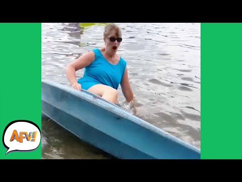She's Going on a TIPPING TRIP! 😆   Funny Fails   AFV 2020