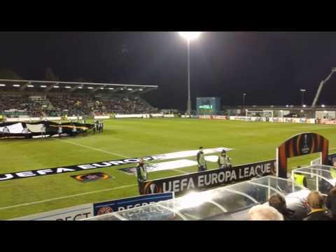 Dundalk v FC Zenit (Europa League Anthem)
