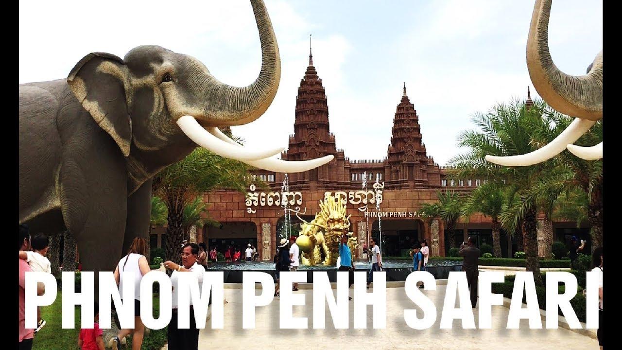 Phnom Penh Safari World Zoo At Lyongpath Street and Bridge |  សូនសត្វសាហ្វារីវើលនៅផ្លូវលីយ៉ុងផាត់ - YouTube
