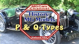 P and Q types on the MG Cars Channel -