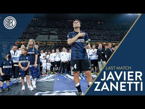 Javier Zanetti says farewell to San Siro   Inter vs. Lazio 2013/14
