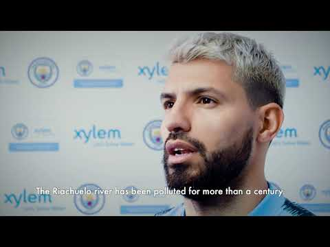 @ManCity Sergio Aguero Talks About Water Challenges Water Challenges are Close to Home for Aguero...in Argentina. #LetsSolveWater @XylemInc.