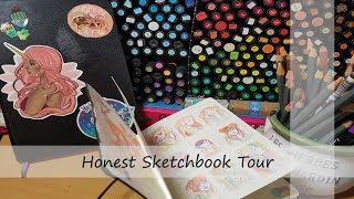 Honest Sketchbook Tour- My rough sketchbooks
