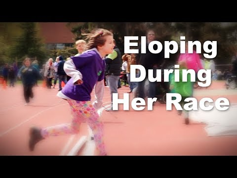 8 Year Old Elopes From Her Special Olympics Race- Autism and Eloping