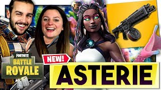 NEW SKIN AND NEW ARME: ASTÉRIE AND POMPE A TAMBOUR! FORTNITE DUO EN