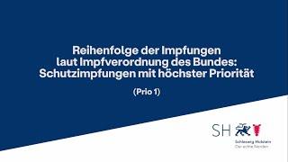 Momentan können sich berechtigte der prioritätengruppe 1 laut coronaimpfverordnung des bundes für einen impftermin über www.impfen-sh.de anmelden. mit ausnah...