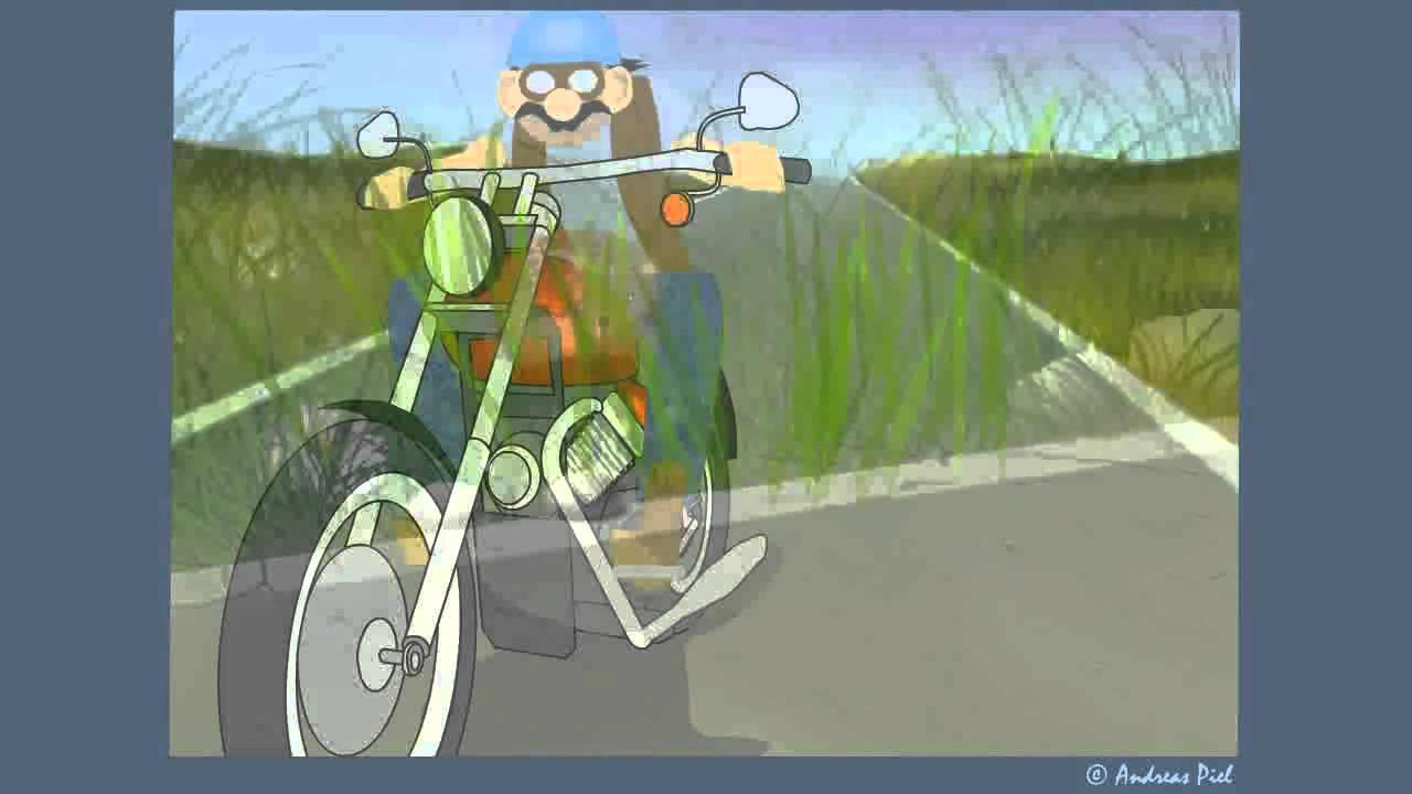 Grußkarte Mit Igel Und Biker Allgemeine E Card YouTube
