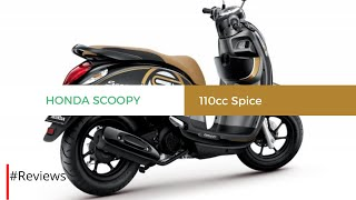 Honda Scoopy 110CC Price in India, Launch Date, Specifications - #REVIEWS