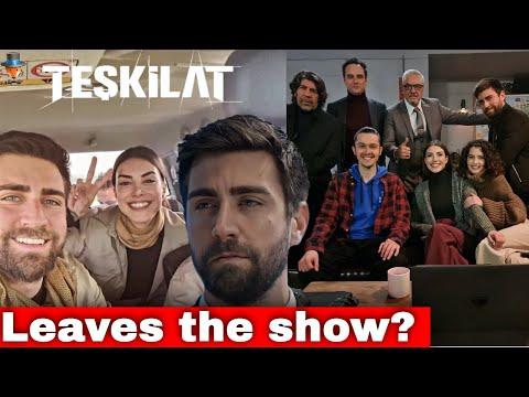 Is Çağlar Ertuğrul leaving the series Organization / Teşkilat?