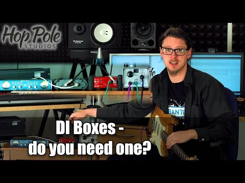 DI Boxes For Recording Guitars - Is A Good One Worth It?