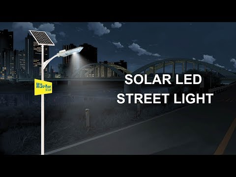 How does a Street Light work? Solar LED Street Light