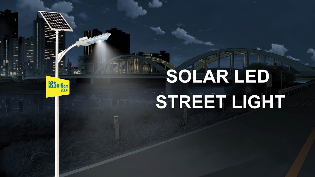 How Does A Street Light Work Solar Led Street Light Youtube