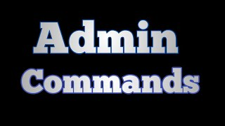How to add admin commands in a Roblox game
