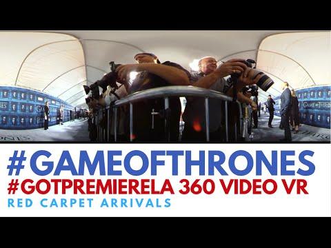 #360Video Game Of Thrones Season 6 Premiere Red Carpet #VR #GameOfThrones #GoTPremiereLA #360fly