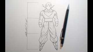 Proportions/Scale - How to Draw Dragonball Characters