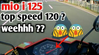 MIO I 125 TOP SPEED | NASUGBU RIDE | WITH OBR | 120 TOPSPEED ??