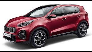 2019 New Kia Sportage Facelift Revealed