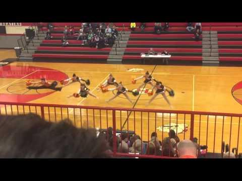 Gillespie High School Pom Dance 2016