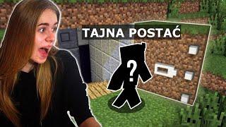 Znalazłam BAZĘ TAJEMNICZEJ POSTACI w Minecraft...!!!